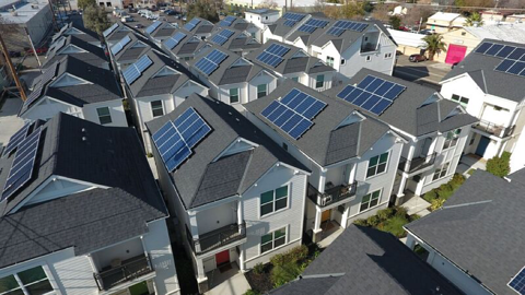 solar battery for backup power in California
